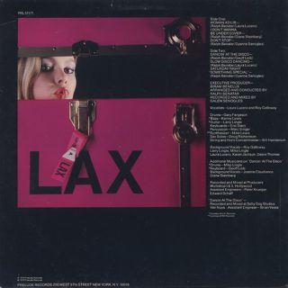 L.A.X. / S.T. back