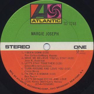 Margie Joseph / Margie Joseph label