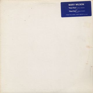Mary Wilson / Red Hot