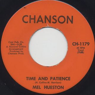 Mel Hueston / Double Confusion c/w Time And Patience back