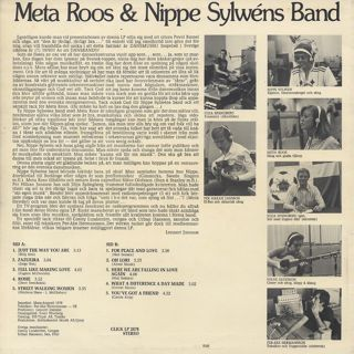 Meta Roos & Nippe Sylwens Band / S.T. back