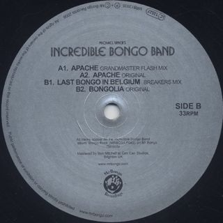 Michael Viner's Incredible Bongo Band / Apache label