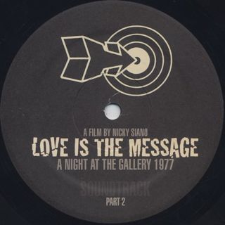 Nicky Siano / Love Is The Message label