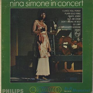 Nina Simone / In Concert front