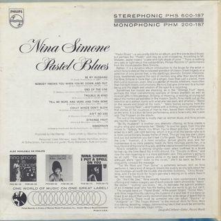 Nina Simone / Pastel Blue back