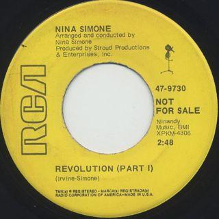 Nina Simone / Revolution