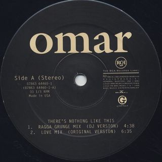 Omar / There's Nothing Like This label
