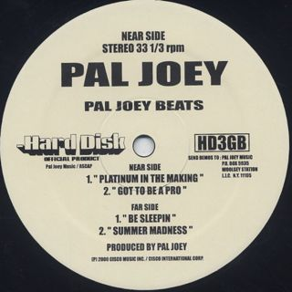 Pal Joey / Pal Joey Beats label