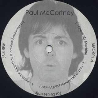 Paul McCartney / Balearic Rarities front