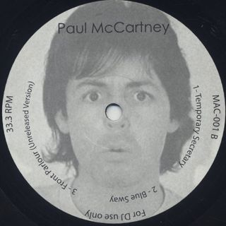 Paul McCartney / Balearic Rarities back
