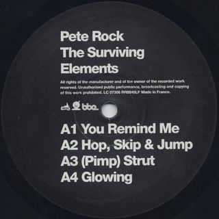 Pete Rock / The Surviving Elements label