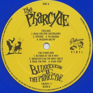 Pharcyde / Bizarre Ride II The Pharcyde label