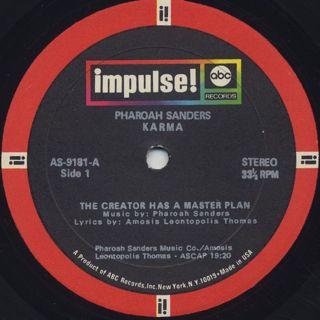 Pharoah Sanders / Karma label