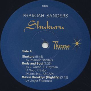 Pharoah Sanders / Shukuru label