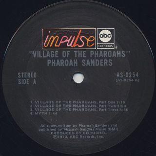 Pharoah Sanders / Village Of The Pharoahs label