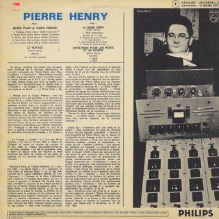Pierre Henry / Michel Colombier / Messe Pour Le Temps Present back