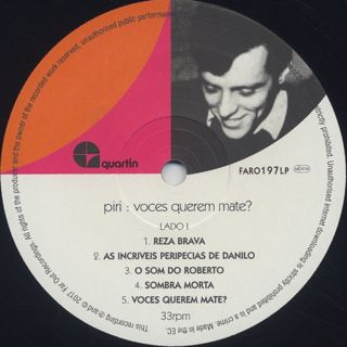 Piri / Voces Querem Mate? label