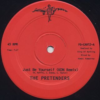 Pretenders / Just Be Yourself(Kon Remix) front