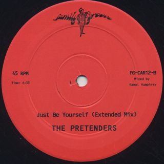 Pretenders / Just Be Yourself(Kon Remix) back