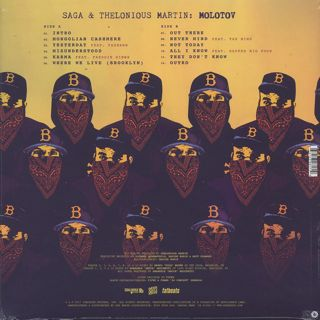 Saga & Thelonious Martin / Molotov back