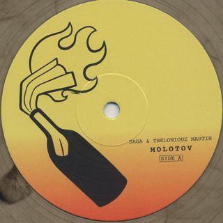 Saga & Thelonious Martin / Molotov label