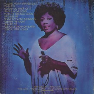 Sarah Vaughan / Feelin' Good back