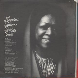 Shirley Scott / Mystical Lady back