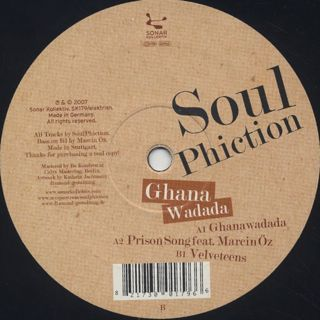 Soul Phiction / Ghana Wadada back