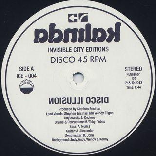 Stephen Encinas / Disco Illusion label