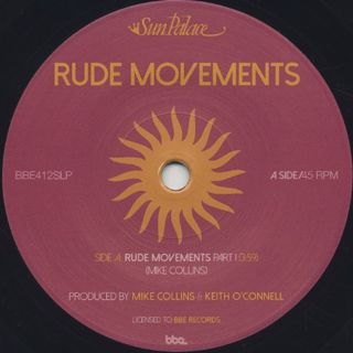 Sun Palace / Rude Movements (Parts I & II) label