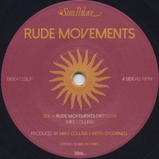 Sun Palace / Rude Movements (Parts I & II) label