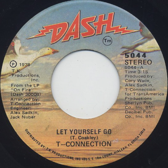 T-Connection / Let Yourself Go front