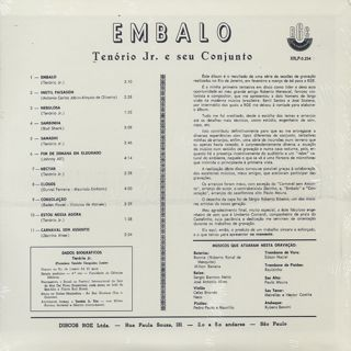 Tenorio Jr. / Embalo back