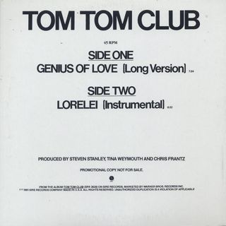 Tom Tom Club / Genius Of Love