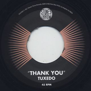 Tuxedo / Thank You label