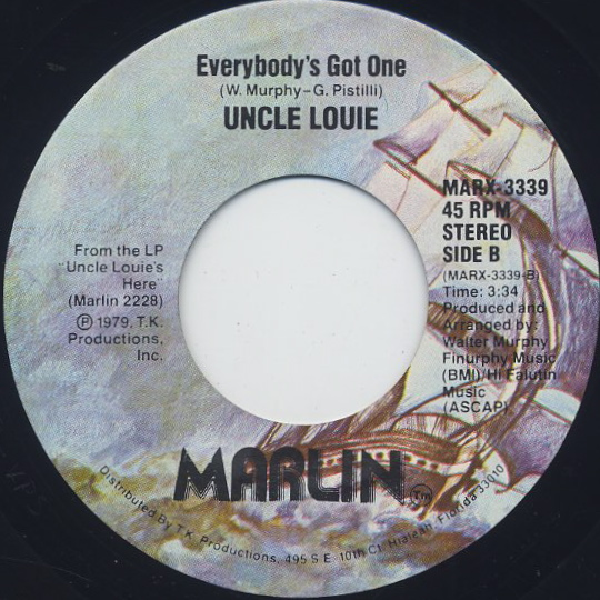 Uncle Louie / I Like Funky Music back