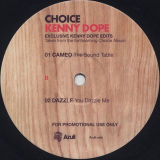 V.A. / Choice - A Collection Of Classics - Exclusive Kenny Dope Edits label