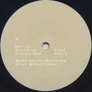 V.A. / Detroit Beatdown Vol.1 label