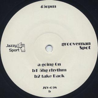 grooveman Spot / Runnin' Pizza EP 2 label