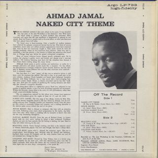 Ahmad Jamal / Naked City Theme back