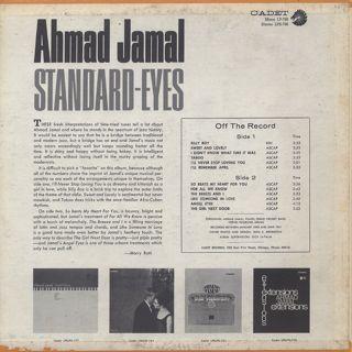 Ahmad Jamal / Standard - Eyes back