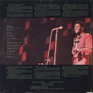 Al Green / Green Is Blues back