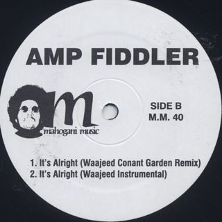 Amp Fiddler / So Sweet front