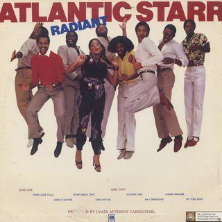 Atlantic Starr / Radiant back