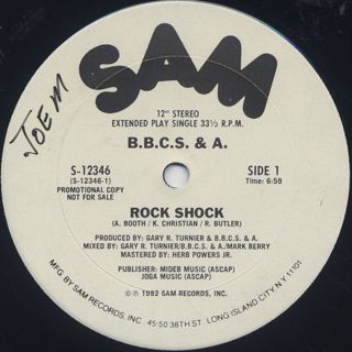 B.B.C.S. & A. / Rock Shock front