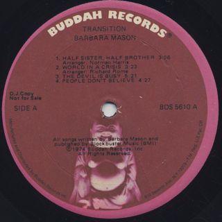 Barbara Mason / Transition label