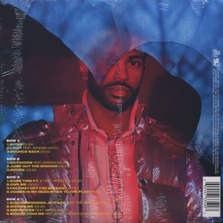 Big Sean / I Decided (2LP/Blue Vinyl) back