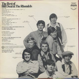 Bill Deal & The Rhondels / The Best Of back