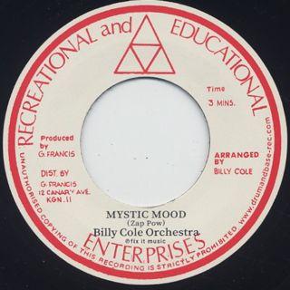 Billy Cole / Little Green Apples c/w Mystic Mood back