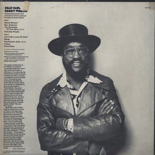 Billy Paul / Ebony Woman back